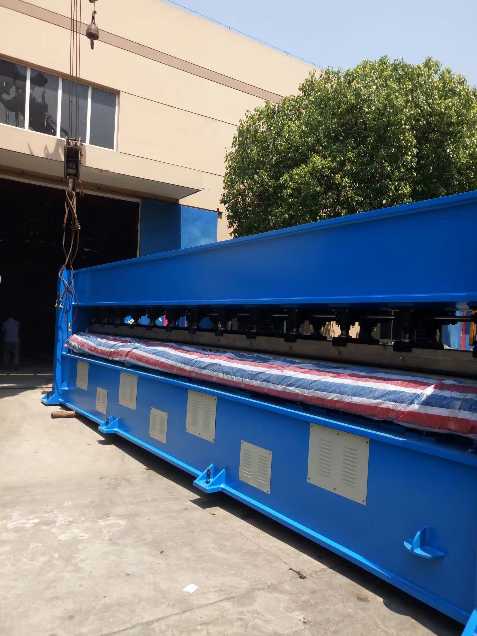 6m Needle Loom Machine Nonwoven Needle Punching 750rpm Needle Frequency