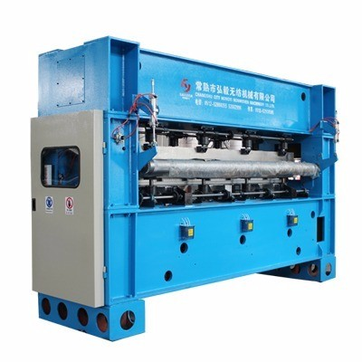 Single Board 2m Needle Loom Machine Needle Punched Non Woven Fabric