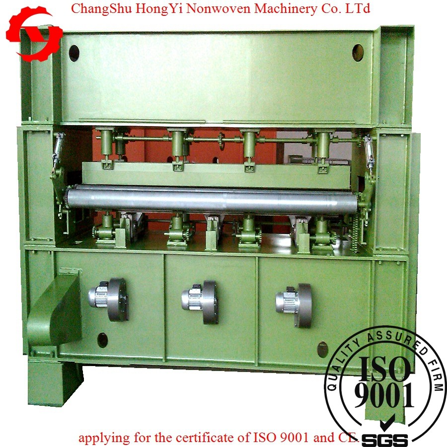 Double Stroke Needle Punching Machine For Non Woven Felt Producting