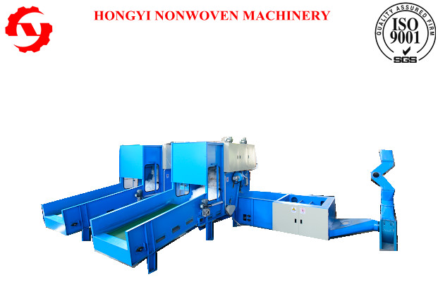 Pp Spunbond Nonwoven Fiber Opening Machine , Fabric Making Machine With Weighing Device