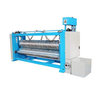 Two Roller 3.5m Fabric Calender Machine , Textile Rolling Machine For Nonwoven
